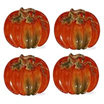 Pumpkin Plate Set of 4
