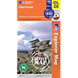 Dartmoor (OS Explorer Map Active)by Ordnance Survey