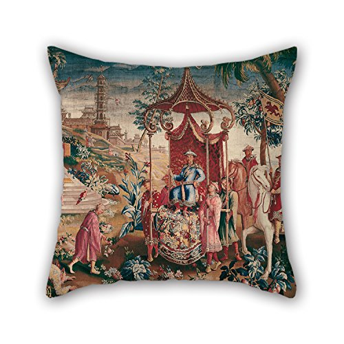 Slimmingpiggy Pillowcase 18 X 18 Inches / 45 By 45 Cm(both Sides) Nice Choice For Coffee House,valentine,dining Room,saloon,chair Oil Painting Royal Beauvais Manufactory - The Princeâ€TMs Journey (Betty Boop House Shoes compare prices)