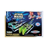 Star Wars Episode I Micro Machines Podracer Launchers with Teemto Pagalies and Gasgano's Podracers