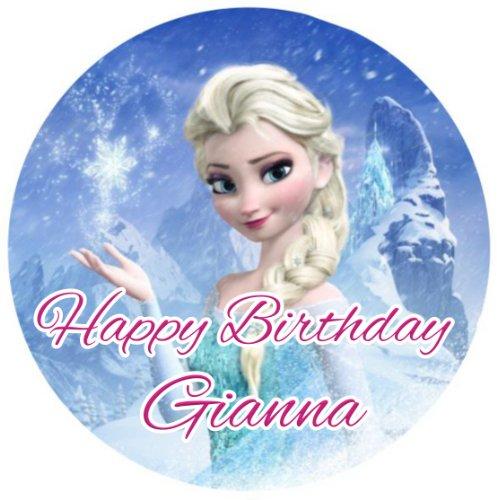 Edible Cake Images Elsa : Frozen Cake Asda images