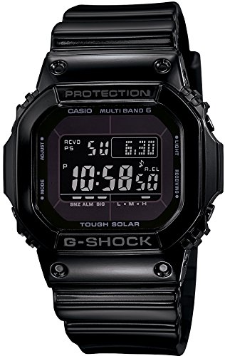 [カシオ]CASIO 腕時計 G-SHOCK Grossy Black Series 電波ソーラー GW-M5610BB-1JF メンズ