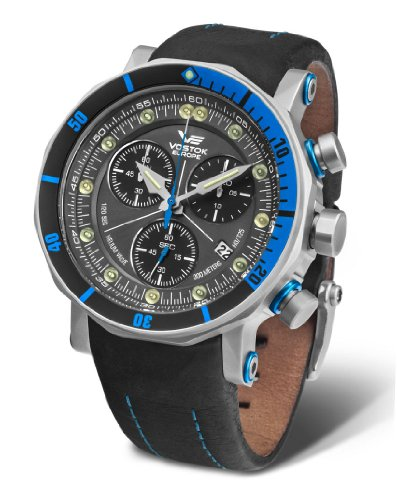 Vostok-Europe - Lunokhod 2 Grand Chrono - Tritium Tube - 6S30/6205213