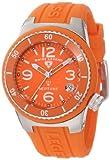 Swiss Legend Women's 11840P-06 Neptune Orange Dial Orange Silicone Watch