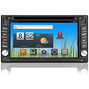 2 din android 4 1 autoradio gps wifi dvd bluetooth doppel. Black Bedroom Furniture Sets. Home Design Ideas