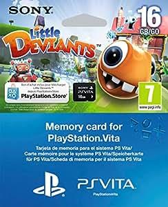 Carte mémoire 16 Go + Little Deviant voucher