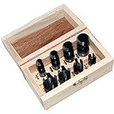 Am-Tech - Caja de accesorios perforadores para carpintería