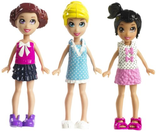 Polly Pocket Pollyworld Pop N Lock Fashion Pack