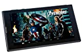 #10: Disney Tablet Marvel Avengers with stylish Flip Case (7 inch, 8GB, Wi-Fi + 3G + Voice Calling + Dual Sims), Black
