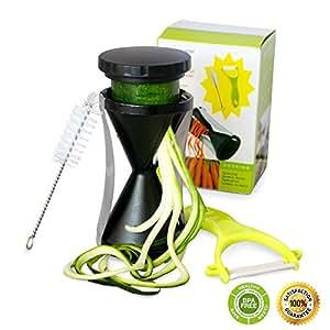 Amazon.com: Spiralizer Spiral Slicer Vegetable Cutter ...