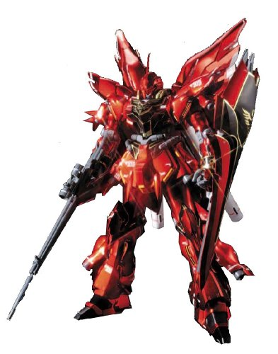 Sinanju Titanium Finish (HGUC) (1/144 scale Gundam Model Kits) [JAPAN]