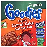 Organix Goodies Organic Carrot Cake Soft Oaty Bars 6 x 30G