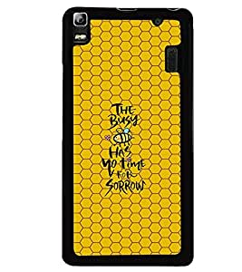 PRINTVISA Quotes Life Case Cover for Lenovo A7000