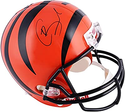 Giovani Bernard Cincinnati Bengals Autographed Riddell Replica Helmet - Fanatics Authentic Certified