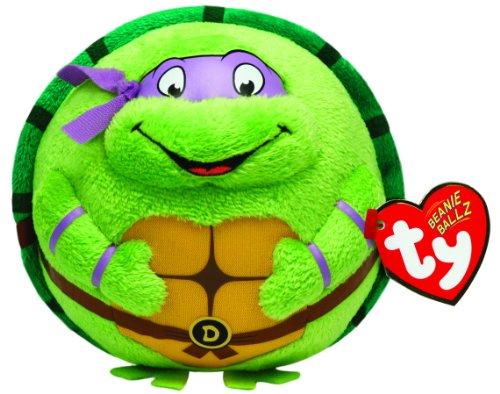 Ty Beanie Ballz Donatello Purple Mask - 1