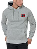 Geographical Norway Sudadera con Capucha Fondant (Gris)