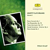 Kempff plays Brahms, Vol. II