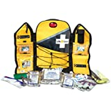 Life Gear Wings of Life Emergency Survival Kit & Yellow Backpack - 1 person, 3 day food & water, first aid, poncho, blanket, tool, compass, whistle and more