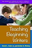 img - for Teaching Beginning Writers (Essential Library of Prek-2 Literacy) book / textbook / text book