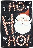 Toland Home Garden Ho Ho Ho Santa Garden Flag 118299