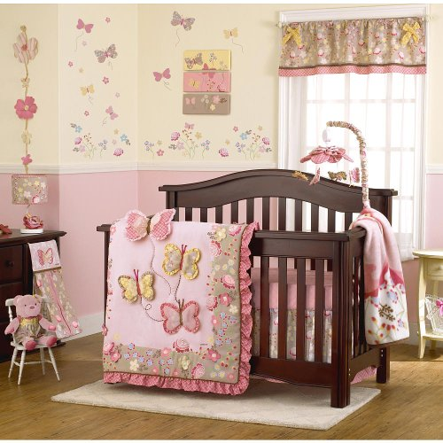 Ideal CoCaLo Baby Maeberry Piece Crib Bedding Set