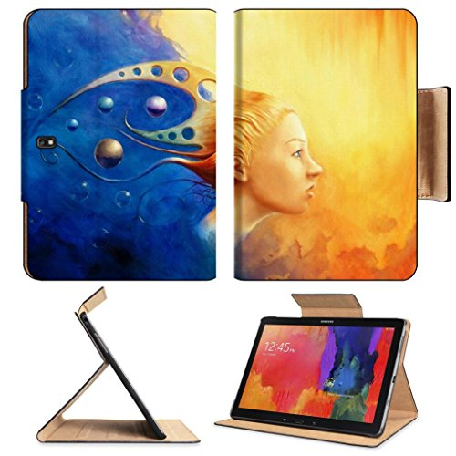Abstract Thought Night Day Drawing Samsung Note Pro 12.2 Flip Case Stand Smart Magnetic Cover Open Ports Customized Made To Order Support Ready Premium Deluxe Pu Leather Luxlady Professional Graphic Background Covers Designed Model Folio Sleeve Hd Templat front-218832