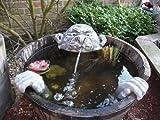 Steinfigur Wasserspeier Garten Deko-Gartenfigur Koi Teich WasserspuckerSteinfigur Wasserspeier Garten Deko-Gartenfigur Koi Teich Wasserspucker