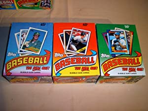 1988 1989 1990 Topps Baseball Boxes. 3 Box Lot. 108 Packs. Your chance to find great... by Topps