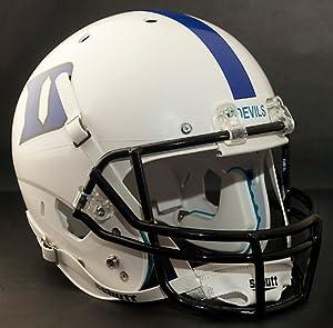 DUKE BLUE DEVILS 2004-2007 Schutt AiR XP Authentic GAMEDAY Football Helmet by ON-FIELD