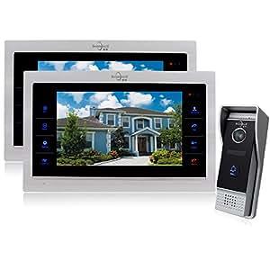Amazon Com Bcomtech Door Phone Intercom System Video