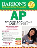 Barrons AP Spanish with MP3 CD, 8th Edition