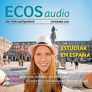 ECOS audio - Estudiar al extranjero. 9/2016 Hörbuch
