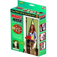 Hands-Free Retractable Screen Door - As Seen On Tv-MAGIC MESH SCREEN