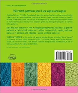Knitting Stitches Encyclopedia : Knitting Stitches VISUAL Encyclopedia: Sharon Turner: 9781118018958: Amazon.c...