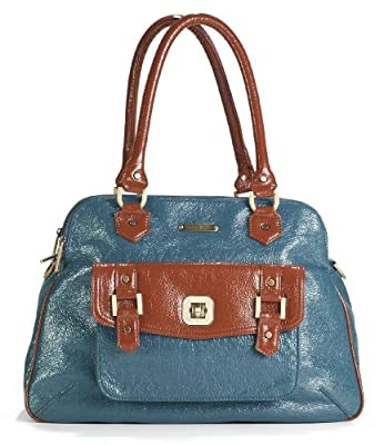 Timi and Leslie Sophia Changing Bag (Aqua/ Rust) by timi & leslie