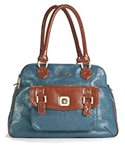 Timi & Leslie Diaper Bags Sophia Diaper Bag Aqua Blue/Rust One Size (Discontinued by Manufacturer)