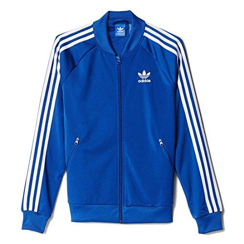 Adidas Supergirl Tt Giacca Sportiva Donna, Blu, 44