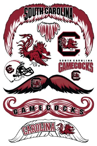 StacheTATS South Carolina Temporary Mustache Tattoos