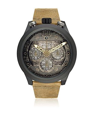 Timecode Quarzuhr Man Moon 1969 beige 46 mm