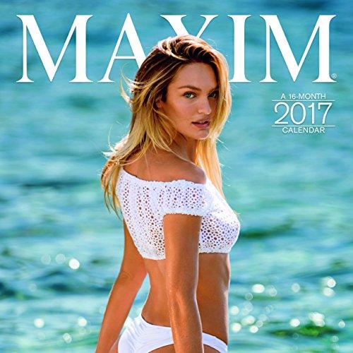 """Trends International 2017 Wall Calendar, September 2016 - December 2017, 11.5"""" x 11.5"""", Maxim"""