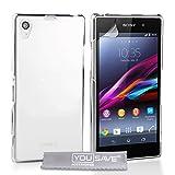 Sony Xperia Z1 Tasche Kristall Klare Harte Hülle