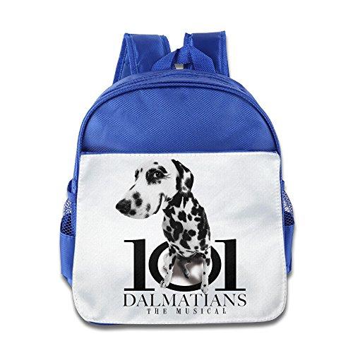 [Custom 101-Dalmatians Personalized Boys And Girls Shoulders Bag For 1-6 Years Old RoyalBlue] (Dalmatians Costume Makeup)