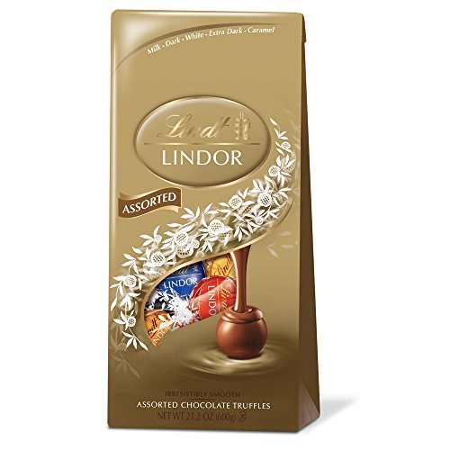 Lindor Assorted Chocolate Truffles, 21.2 ounce