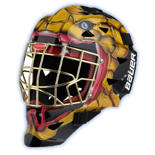 Bauer Profile 1400 Decal Youth Hockey Goalie Mask - Cobra-Cobra