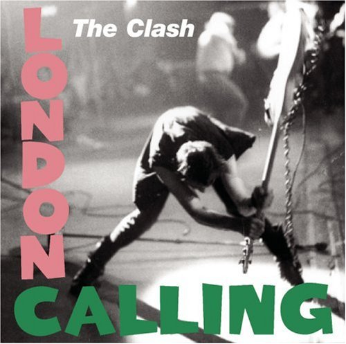 Original album cover of London Calling by The Clash