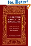 The Printed Book of the Renaissance:...