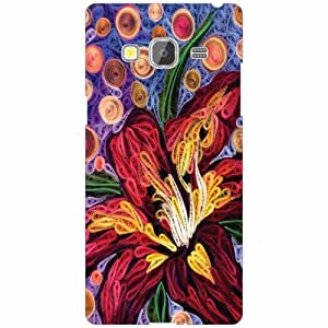 Printland Designer Back Cover for Samsung Z3 Case Cover