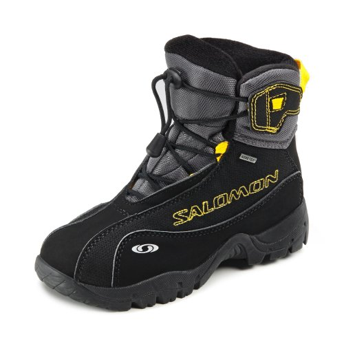 Salomon B4 K Graphic GTX black/autobahn/bee/x, Größen:33