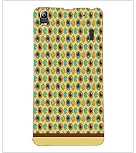 PrintDhaba Pattern D-1544 Back Case Cover for LENOVO A7000 (Multi-Coloured)