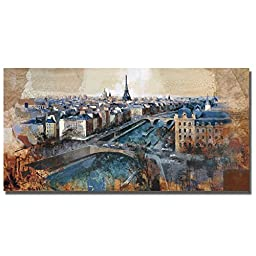 Ciel de Paris by Marti Bofarull Premium Gallery-Wrapped Canvas Giclee Art (Ready-to-Hang)